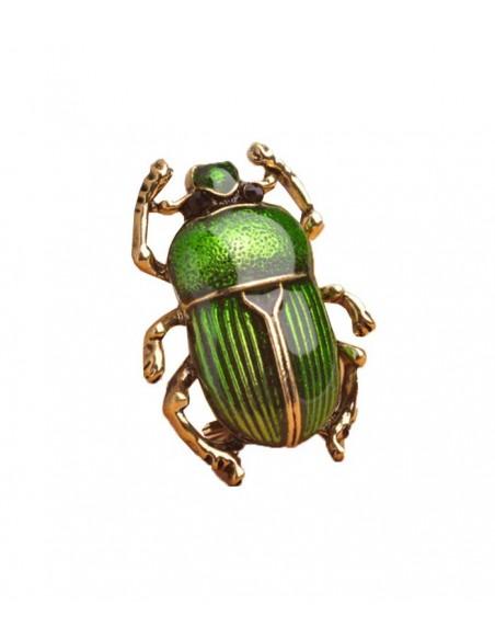 Brosch i form av en insekt, en skalbagge