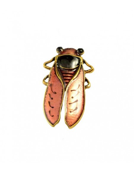 Big brooch in a shape of a insect