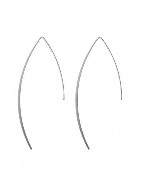 Pilgrim smycken - silver örhängen från Pilgrim i rostfritt stål