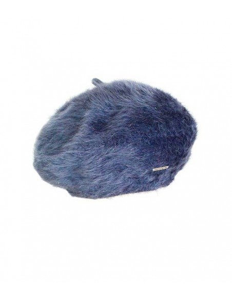 VONBON beret in 100 % cashmere, classic style