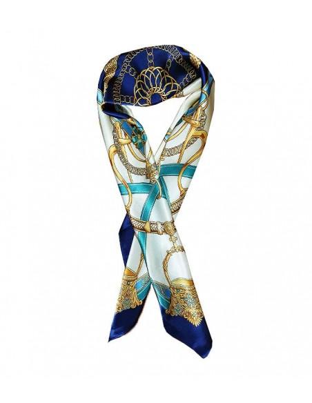Stor klassisk siden sjal i äkta siden / silke
