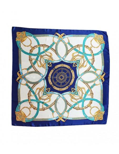 classic silk scarf in pure silk