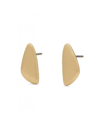 Pilgrim Örhänge Djuna - Guld stift örhängen i guld och strass från
