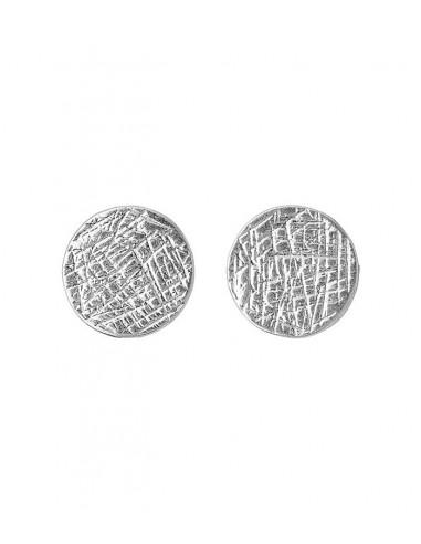 silver earrings from Pilgrim Jewelry
