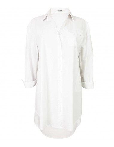 White over-sized cotton shirt / dress