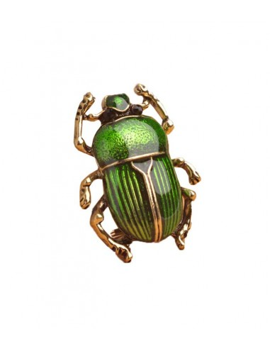 Brooch like a beetle