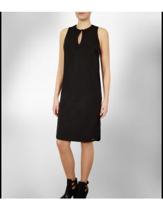 f704a02b8661 ... VONBON Tunika klänning, den lilla svarta snygg kostymklänning  strykfritt tyg 2