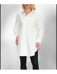 White over-sized cotton shirt / dress
