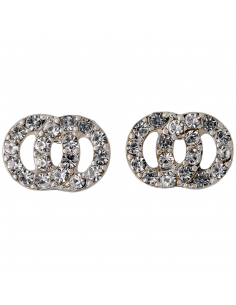 crystal earrings from Pilgrim jewelry