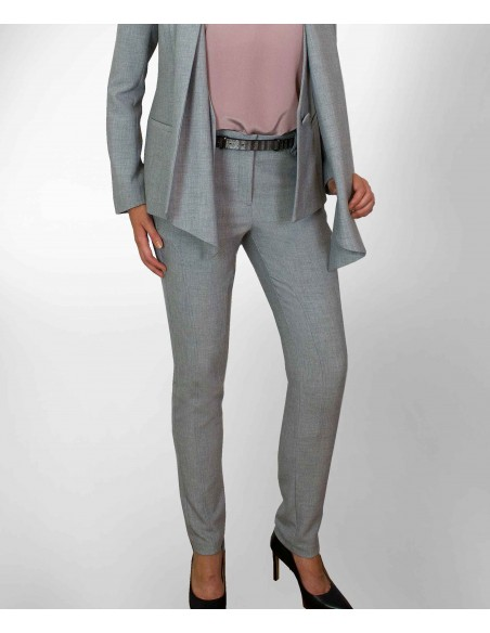 Classic GRAY PANTS,Riders Trousers is a pants inspired by classic equestrian style