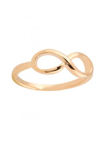 guld ring med evighets symbolen, eternity från Pilgrim Jewelry