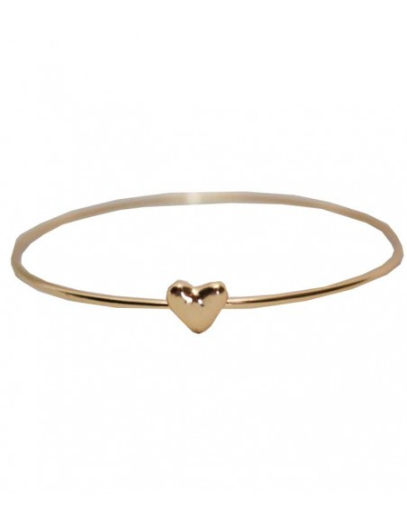 gold bracelet with a heart from Pilgrim VONBON Jewelry