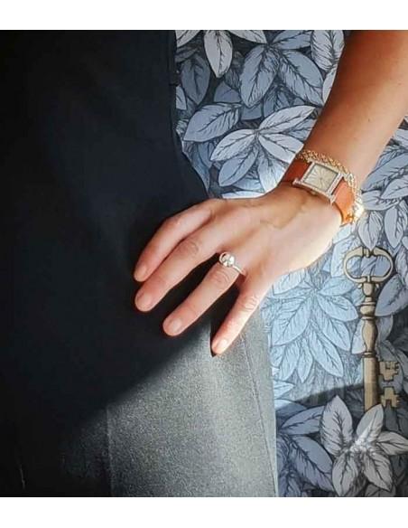 Pilgrim smycken Poe ring