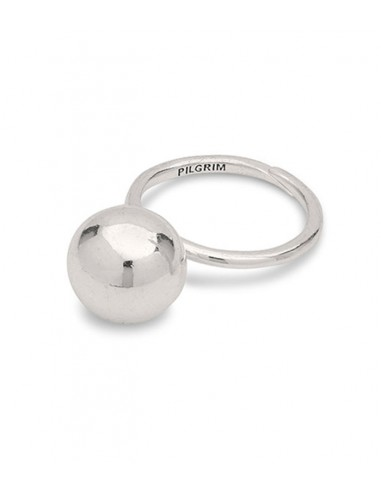 Pilgrim Jewelry - big silver ring with a ball from Pilgrim Jewelry