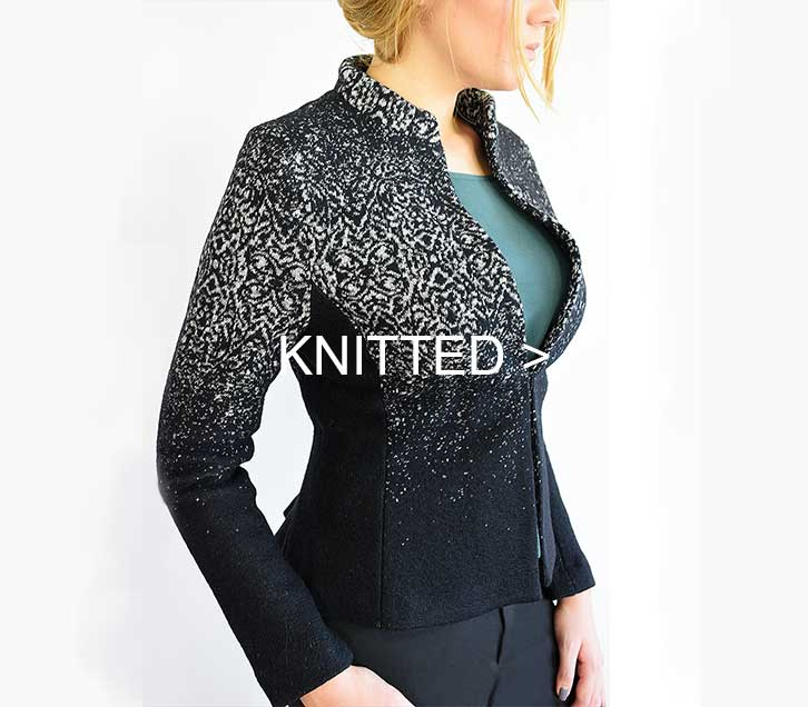 VONBON knitted blazers and jackets