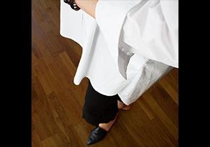 Den vita storskjortan..